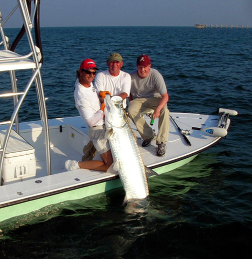 Boca grande tarpon fishing florida tarpon fishing for Florida tarpon fishing
